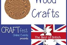 #CRAFTfest Best of British Feb 2016 - Wood Crafts Category! / Sellers with stalls in the Wood Crafts category of the Feb #CRAFTfest Best of British Event share with us their creations.