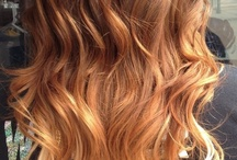 Ombré hair lol / So obsessed wid ombré stuff