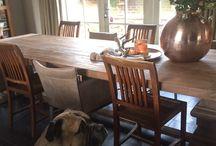 Woning in Berlicum 23-12-2015 / In deze woning mochten we de meubels afleveren met allerlei mooie accessoires van MaisonManon.