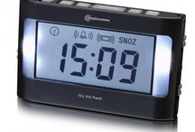 Very Loud Alarm Clocks / Very Loud Alarm Clocks that not only use sound but also vibration and flashing light.