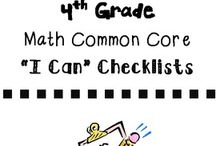4th grade math / by Brianna Herrera