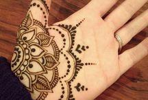 Fesztivál henna