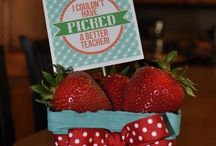 Teacher gift ideas / by Chantele Pehrson