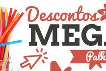 Mega Descontos / Preparados para os Mega Descontos?! Palhinhas com desconto de 15%!  Conheça a nossa oferta http://bit.ly/palhinhas