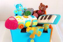 Tarta juguetes / memcakesandcookies.com