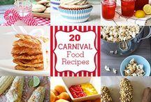 carnival food / by Brenda Bay