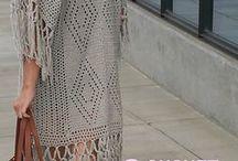 Crochet Jackets,Poncho's & Cover-ups