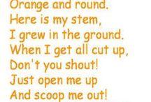 Pumpkins craft songs