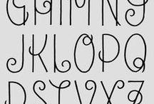 lettering fonts