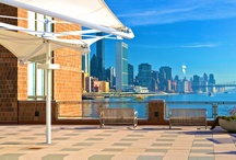 View From the Plaza / A #waterview is almost unheard of in a busy city like #NYC. As the only residential complex directly on the #water, #WatersidePlaza is ideal for #professionals and #families who want all the advantages of a big #city, but with a small town feeling and room to breathe.