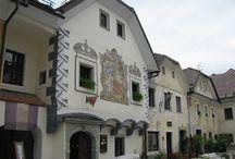 Towns in Slovenia / Kamnik, Radovljica, Celje, Piran, Škofja Loka, Maribor...