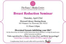 Events & Promotions / Events hosted by the Face and Body Center throughout the year & monthly promotions.