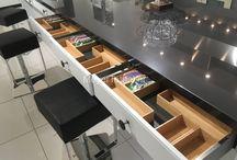 Keukenkast indelingen / Keukenkast indeling mogelijkheden