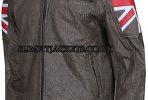 UK Flag Cafe Racer Distressed Brown Leather Jacket / UK Flag Cafe Racer Distressed Brown Leather Jacket is available at Slimfitjackets.co.uk at a discounted price with free shipping across UK, USA, Canada and Europe. For more, please visit: http://goo.gl/xq8NrF