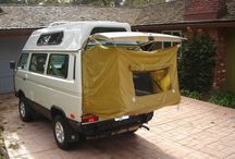 VW Vanagon / Ideas for our van & camping
