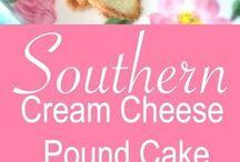 POUND CAKE CHEESE CREAM