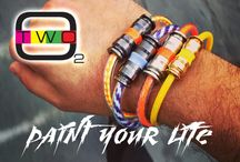 O2 Bracelet / Fashion braccialetti bracelets style moda cool made in italy