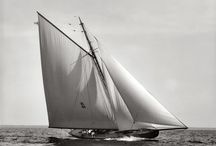 Vintage yachts