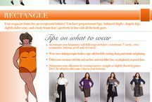 Curvaceous ... Voluptuous ... Fashion How-Tos / How to pick the right clothes for your body type and more...