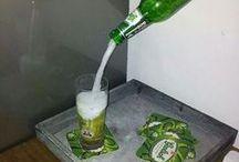 Tazze,bottiglie in sospeso
