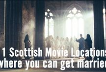 11 Scottish Movie Locations Where You Can Get Married / Scotland is world renowned by filmmakers, including in the recent BFG movie. Ever fancied getting married in a Hollywood location?   #destinationwedding #wedding #weddingvideographer #weddingfilm #bridetobe #groom #hollywood #outlander #highlander #weddingplanner #scottishwedding #weddinginspiration