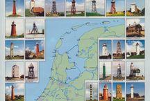 Vuurtorens nederland