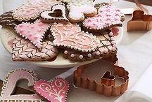 food ideas - flat cookies