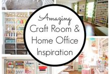 Craft Rooms & Offices / by Gail Parsley