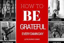 Cultivating Gratitude
