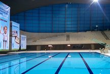 Display Graphics | SwimBritain Aquatic Centre / Like what you see? Find out more at http://bit.ly/2f0aiBw
