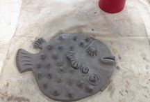 The Story of the  PAW16 Fish / Purbeck Art Weeks is sponsoring 15 workshops for Purbeck Young Artists in 2016. As a part of this some schools are creating 500 ceramic fish to join Dino on the seafront at Swanage. Dorset  this summer. Dawn Newlove is the creative genius behind this initiative. We are going to follow the story of these fish from inception through to unveiling.
