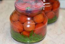 Rajčata a jejich zpracováni´
