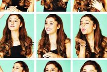 ariana grande / my love for Ariana grande & my inspiration