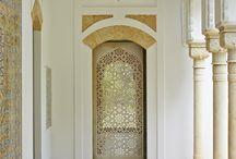 Exotic Columns and Doorways