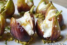 Ricotta stuffed figs