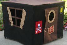 Manualidades y juegos para los peques con material reciclado :)