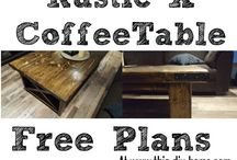 Rustic x table