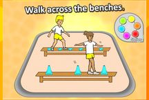 Physical education games