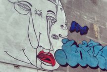 From a wall's point of view / Street art, wall art, graffiti