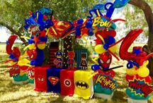 Mesa superhéroes