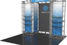 Truss Displays / We offer a lightweight, portable truss system that is easy to assemble and saves $ in shipping and drayage fees. One of the advantages of Truss Exhibits is that they are highly modular!