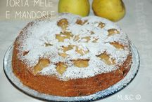 Torta mele e mandorle / Torta alla frutta