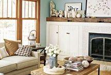 Our living room / by Audra Klinkner