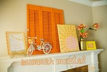 Seasonal Mantle Ideas / by Amy Siebert