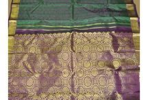 Kanchipuram Kanjeevaram Sarees / This is a collection of Genuine and Authentic handmade Kanchipuram Silk sarees. You can visit our website www.artsyindia.com to browse through and buy from the latest collection of Kanchipuram sarees..