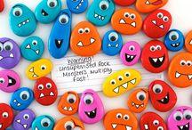 Manualidades infantiles / ¡Animate a enseñarle a los niños las siguientes manualidades!