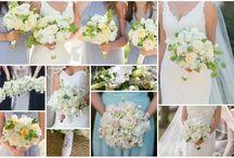 #WhiteWeddingFlowers #BridalBouquets #WeddingFlorist #BrideFlowers #HandTiedBouquets