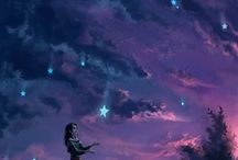 """Star Light Star Bright"" / ""Silently, one by one, in the infinite meadows of heaven, Blossomed the lovely stars, the forget-me-nots of the angels.""  ― Henry Wadsworth Longfellow, Evangeline: A Tale of Acadie"