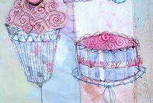 Priscilla Jones inspired canvas bags