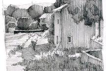 Ian Roberts drawings
